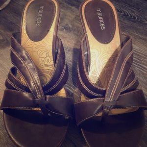Maurice's heeled sandals